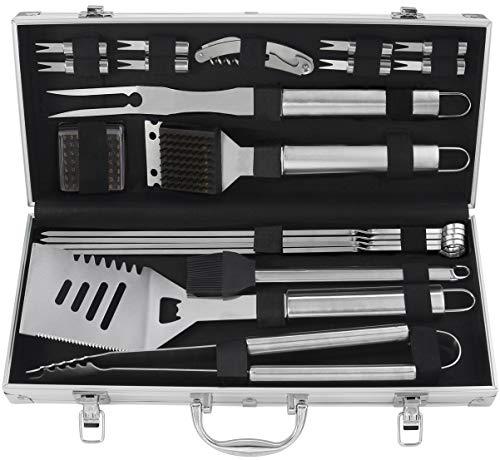 Set di utensili da barbecue, grilljoy 20pcs ProB1901